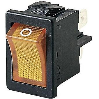 Toggle switch 250 Vac 4 A 2 x Off/On Marquardt 018