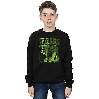 Wizard of Oz Boys Wicked Witch Logo Sweatshirt