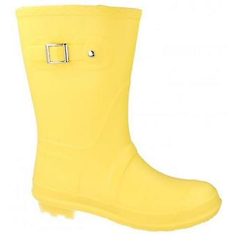Spot On Womens/Ladies Low Calf Pastel Wellington Boots