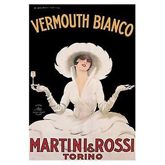 Martini Rossi Poster Poster Print