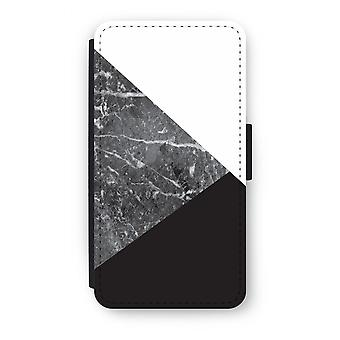 Samsung Galaxy J3 (2016) Flip Case - Marble combination