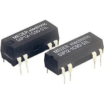 Reed relay 1 change-over 12 Vdc 0.5 A 10 W DIP 8