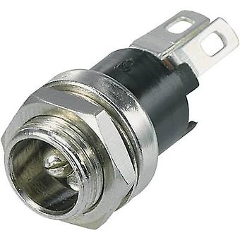 Low power connector Socket, vertical vertical 5.5 mm 2.8 mm