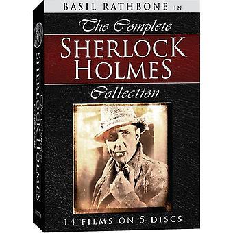 Sherlock Holmes komplett samling [DVD] USA import