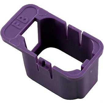 Gecko 9917-100916 Fiber Box Low Current Keying Enclosure -Violet
