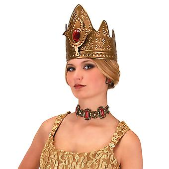 Queen Royal Renaissance Medieval Viking Book Week Deluxe Women Costume Crown