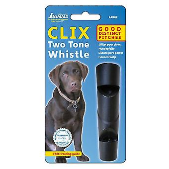 Company of Animals Clix Two Tone Whistle Dog Toy
