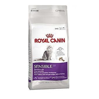 Royal Canin Sensible kat volwassene droog kattenvoer evenwichtig en compleet kattenvoer 10KG