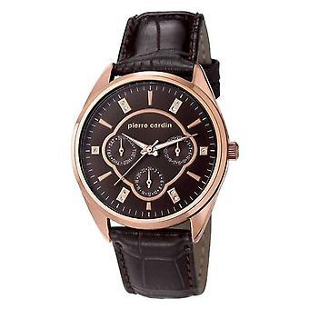 Pierre Cardin Damen Uhr Armbanduhr Bayan Leder PC107182F04