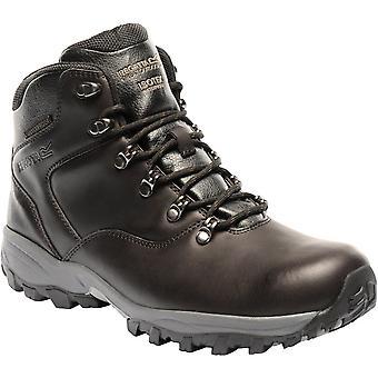 Regatta Mens Bainsford Waterproof Smooth Leather Walking Boots