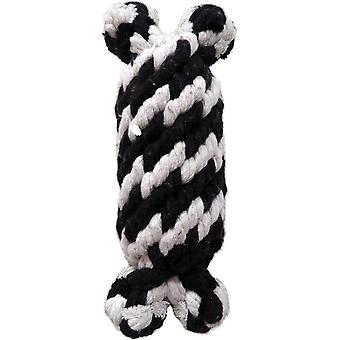 Super Scooch Braided Rope Man With Squeaker Dog Toy 6.5