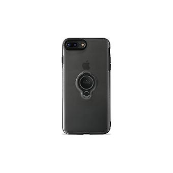 Puro iPhone 8/7 Plus, Magnet Ring Cover, Svart
