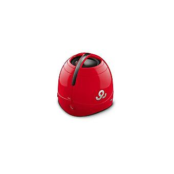 GoGear Sound Dome Wireless Portable Speaker GPS1500 RED