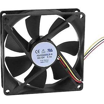 FD129225LS-N(1A3K) Axial fan 12 Vdc 64,74 m ³/h (L x W x H) 92 x 92 x 25mm
