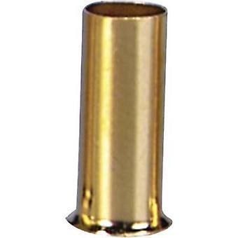 Ferrules 1 x 2.5 mm² Sinuslive gold-plated