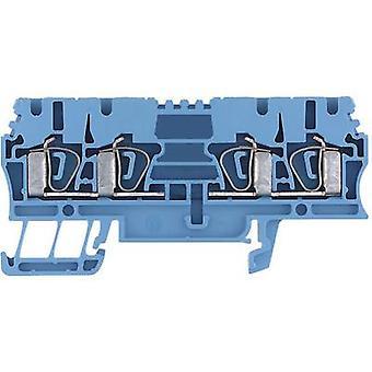 Weidmüller 1608580000 ZDU 2.5/4AN BL 0.5 - 4 mm² Blue