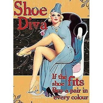 Shoe Diva Fridge Magnet