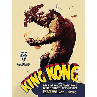 King Kong Large Steel Sign 400Mm X 300Mm