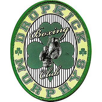 Dropkick Murphys Boxing Club Oval Aufbügeln / Nähen-auf Stoff Patch