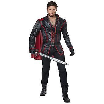 Storybook jager Humbert sneeuw witte middeleeuwse Hunter Renaissance Mens kostuum