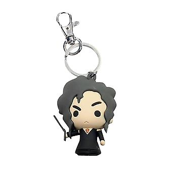 Harry Potter printed, plastic, including mini carabiner Keyring Bellatrix Lestrange.