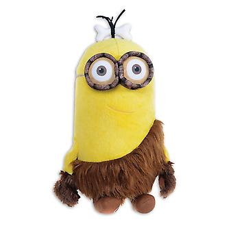 Despicable me plush figure of minions - Caveman Kevin yellow, embroidered with applications from Velboa plush, 100% polyester.