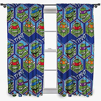 Turtles Curtains 168 x 183 cm