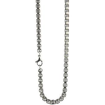 Ti2 Titanium Box Chain - Silver