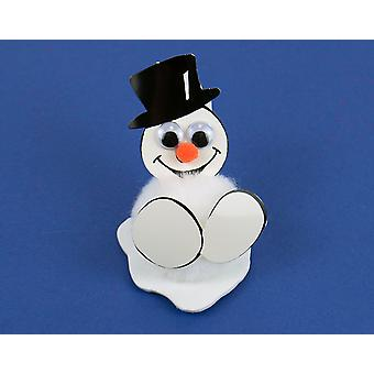 Smiley Snowman littlecraftybug Christmas Craft Kit for 10 Kids