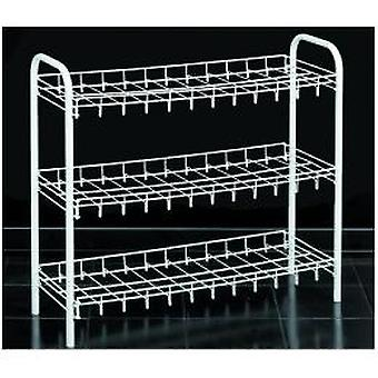 Metaltex Scarpa 9 pair shoe rack