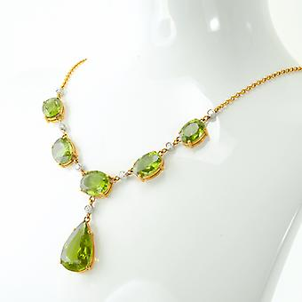 Shipton and Co 30cts Of Fine Quality Himalayan Peridot In 18ct Gold