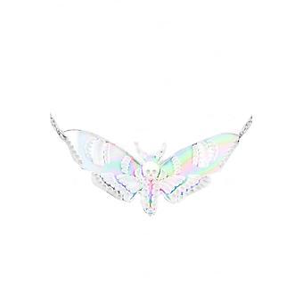 Curiology Iridescent Deaths Head Moth Necklace