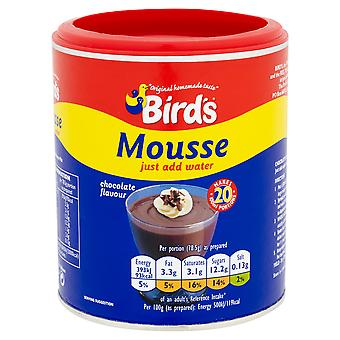 Vögel-Schokoladengeschmack-Mousse-Mischung