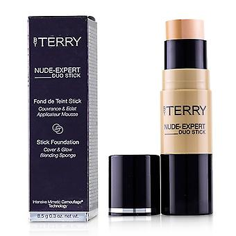 By Terry Nude Expert Duo Stick Foundation - # 10 Golden Sand - 8.5g/0.3oz