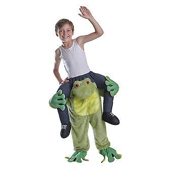 Piggy Back żaba kostium Childs