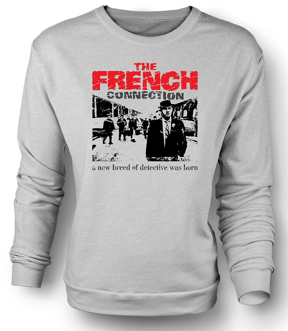 Mens Sweatshirt franske Connection - Popeye Doyle