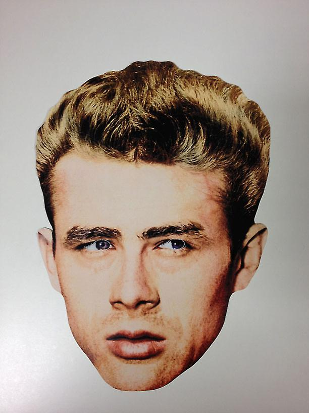 James Dean Card Face Mask