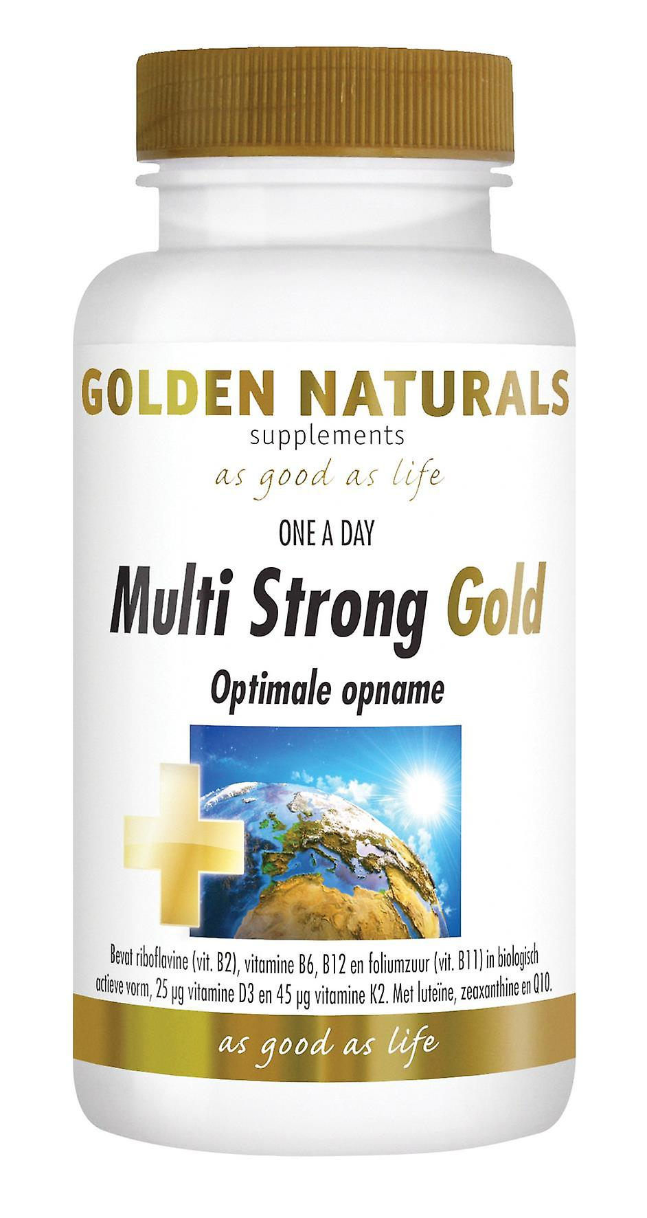 Golden Naturals Multi Strong Gold (30 tablets)