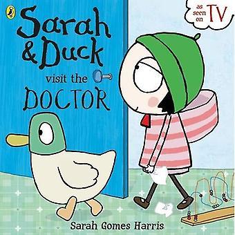 Sarah e pato visita o médico