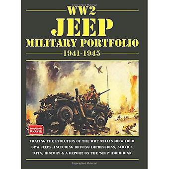 WW2 Jeep Military Portfolio 1941-1945 (Brooklands Books Military Road Test Series)