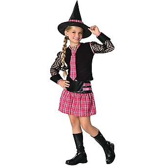 Skolens heks barn kostume