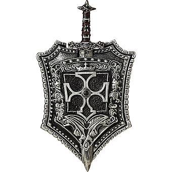 Kreuzritter Schild Schwert 18 Zoll