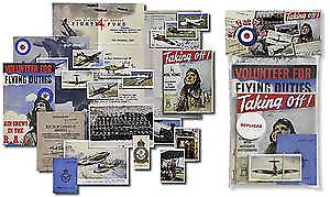 RAF at War nostalgic memorabilia pack
