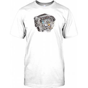 Chevrolet V8 Engine - Cool Chevy Mens T Shirt