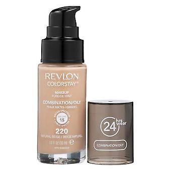 Revlon Colorstay Make-up Combination/Oily Skin-220 Natural Beige 30 ml