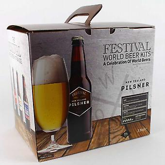 Kit de bière Pilsner Festival New Zealand