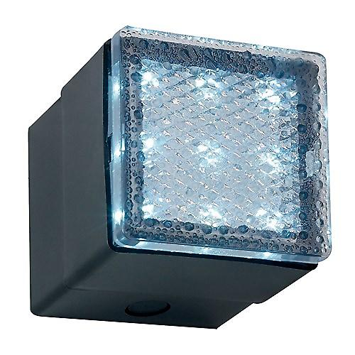 Endon EL-40040-BLU Recessed Led Pathway Marker Light With Blue Led'S