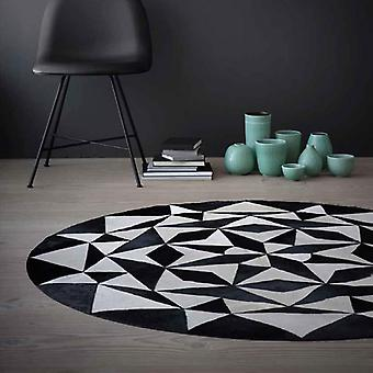 Rugs -Linie Ambition Leather - White & Black