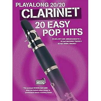 Playalong 20/20 Clarinet - 20 Easy Pop Hits (Book/Audio Download) - 97