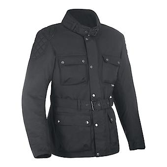 Oxford Black Churchill giubbotto moto impermeabile